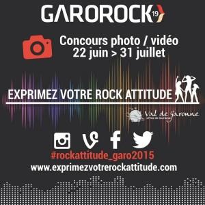 Affiche Exprimez Votre Rock Attitude